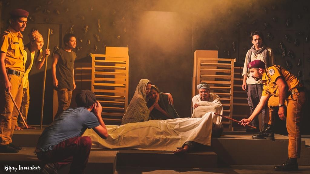 """मण्डला थिएटरको नाटक """"महाभोज"""" बिराटनगरमा मञ्चन हुने 1"""